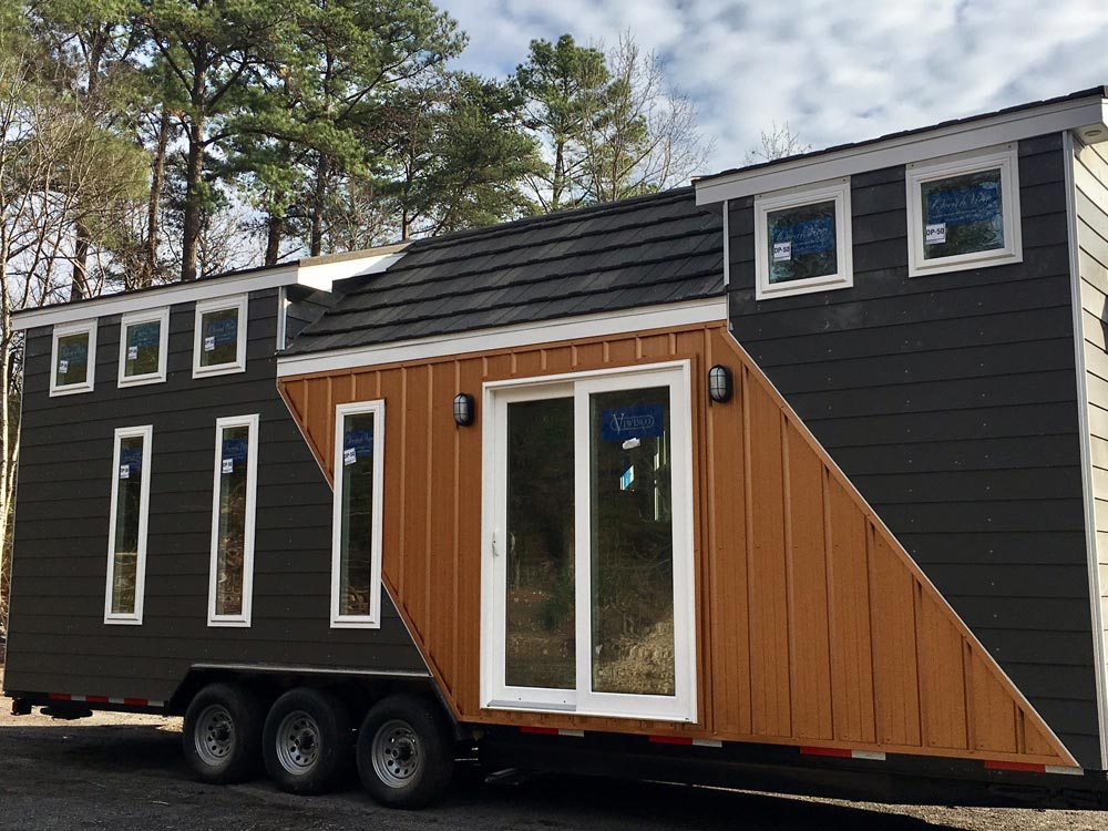 Trinity by alabama tiny homes tiny living for Two bedroom tiny home