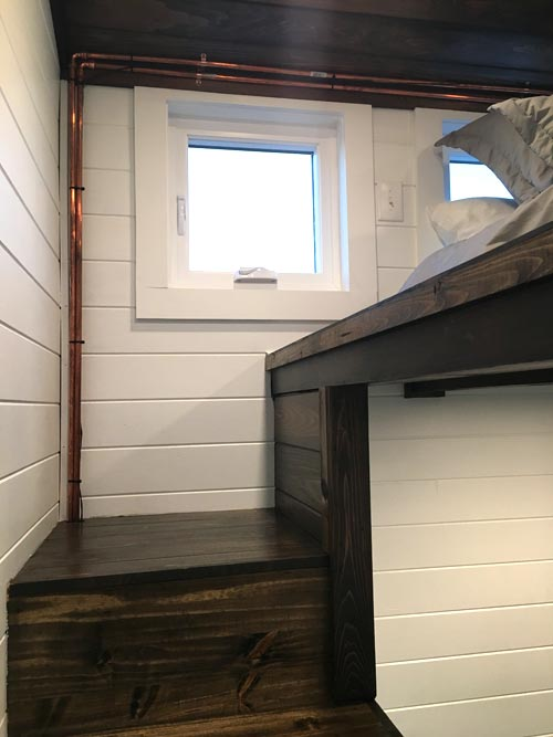 Loft Stairs - Trinity by Alabama Tiny Homes