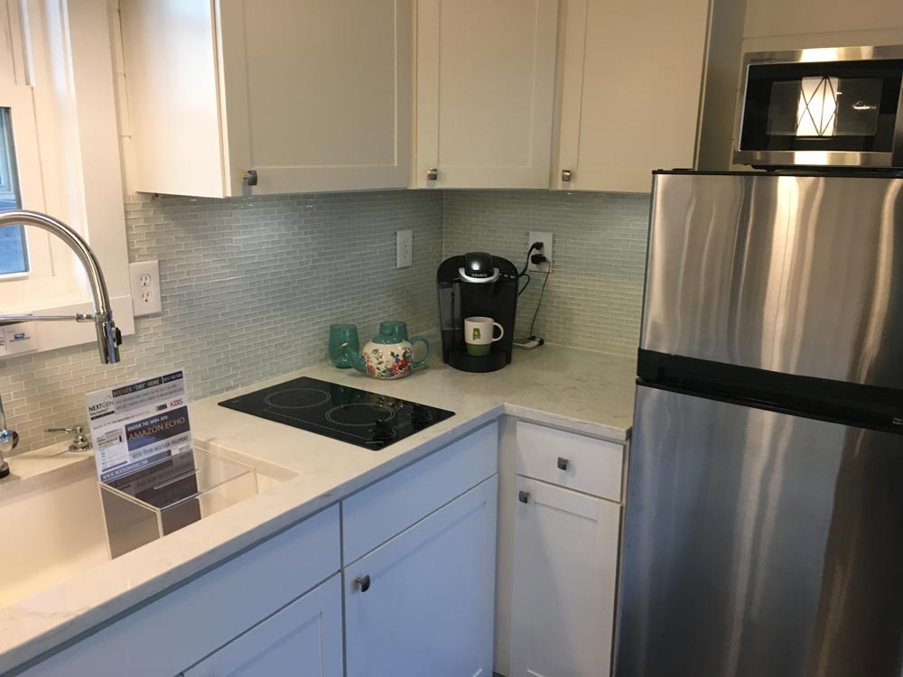 Apartment Size Refrigerator - Trinity by Alabama Tiny Homes