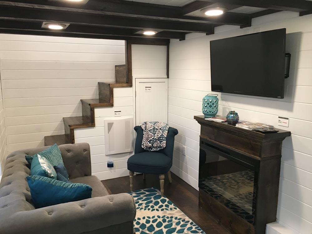 Living Room - Trinity by Alabama Tiny Homes