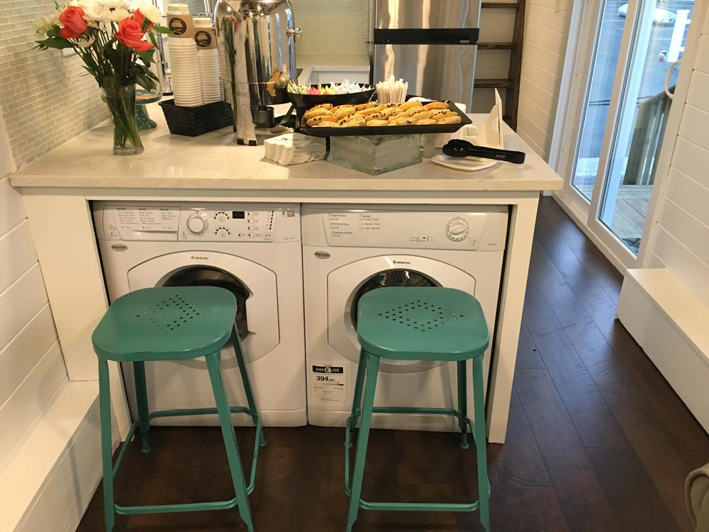 Washer & Dryer Under Counter - Trinity by Alabama Tiny Homes