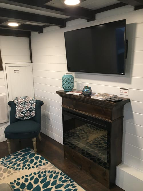 Electric Fireplace - Trinity by Alabama Tiny Homes