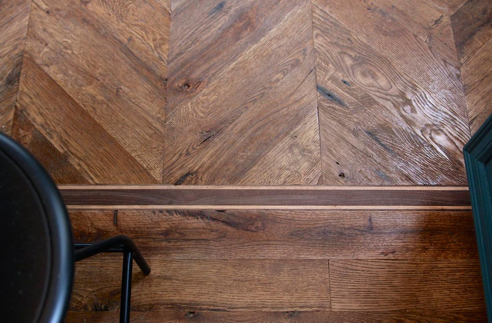 Reclaimed Oak Flooring - Urban Craftsman by Handcrafted Movement