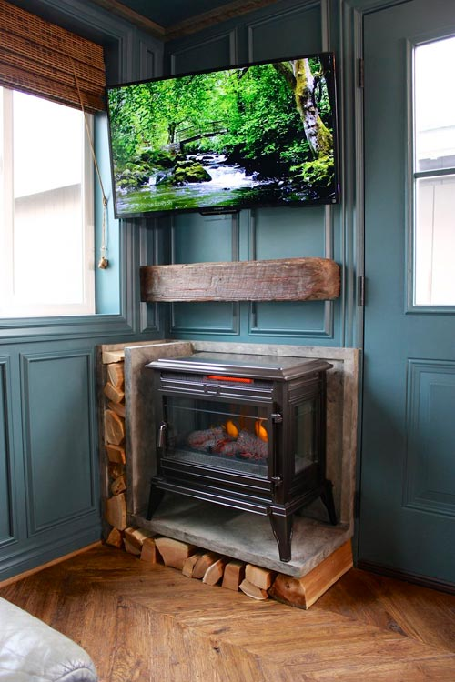 Fireplace - Urban Craftsman by Handcrafted Movement