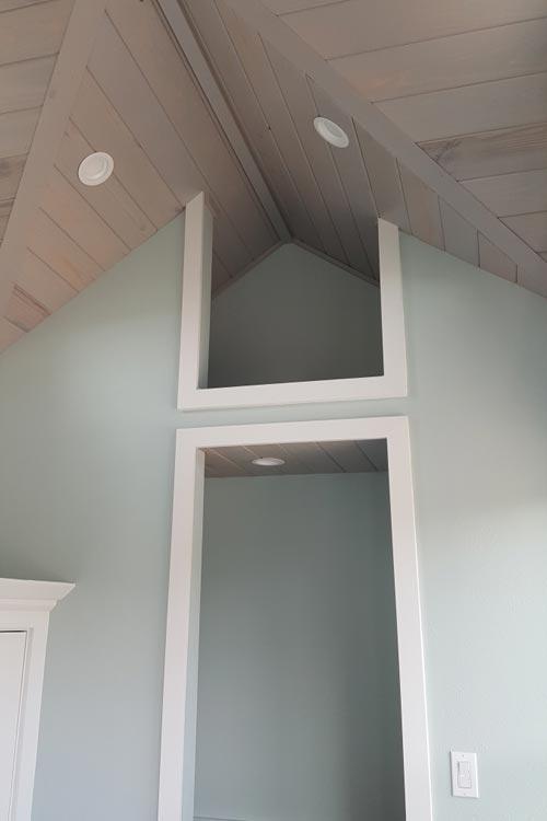 Master Bedroom Closet - Abott by Cornerstone Tiny Homes