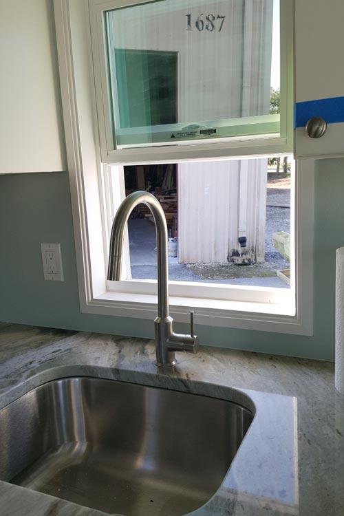 Kitchen Sink - Abott by Cornerstone Tiny Homes