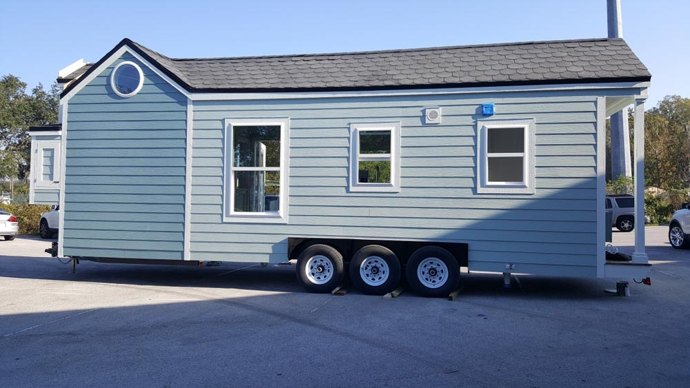 Rear Exterior View - Abott by Cornerstone Tiny Homes