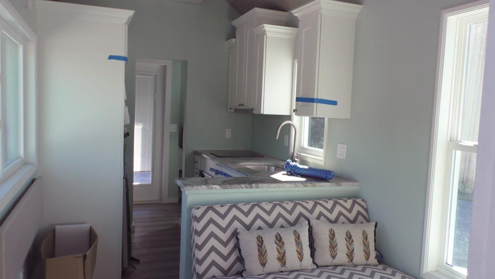 Living Area - Abott by Cornerstone Tiny Homes