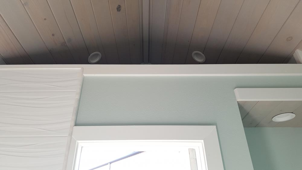 Ceiling Detail - Abott by Cornerstone Tiny Homes