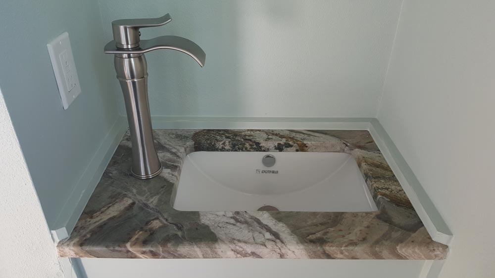 Bathroom Sink - Abott by Cornerstone Tiny Homes