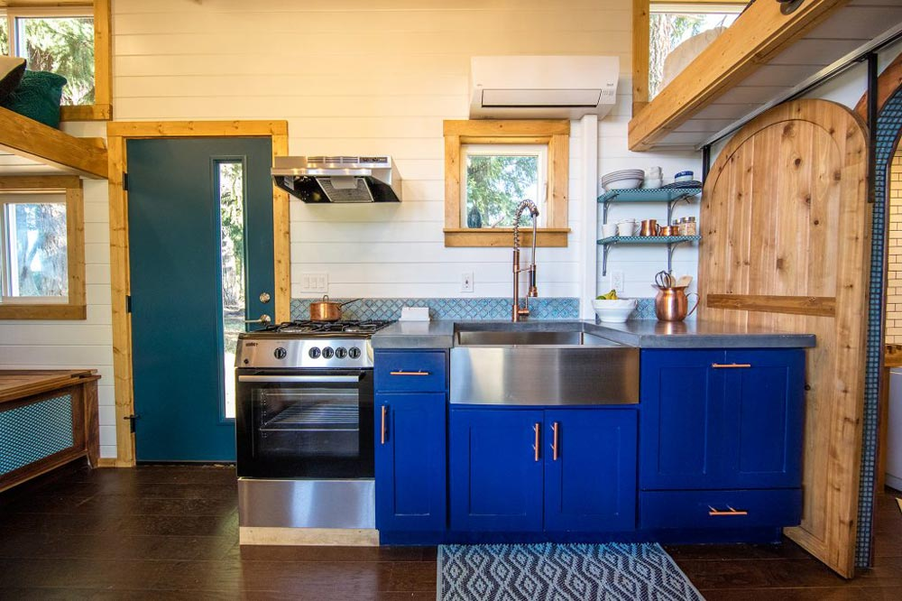 Galley Kitchen - Tiny Adventure Home by Tiny Heirloom