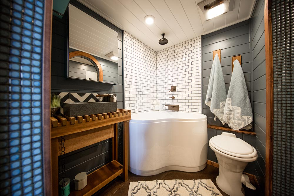 Bathtub - Tiny Adventure Home by Tiny Heirloom