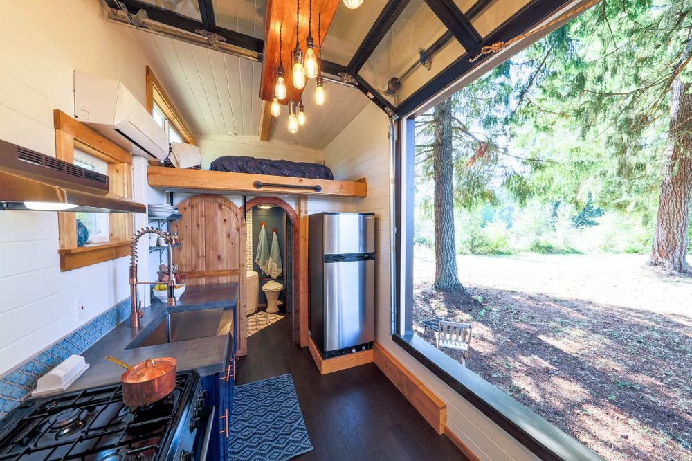 Garage Door Window - Tiny Adventure Home by Tiny Heirloom