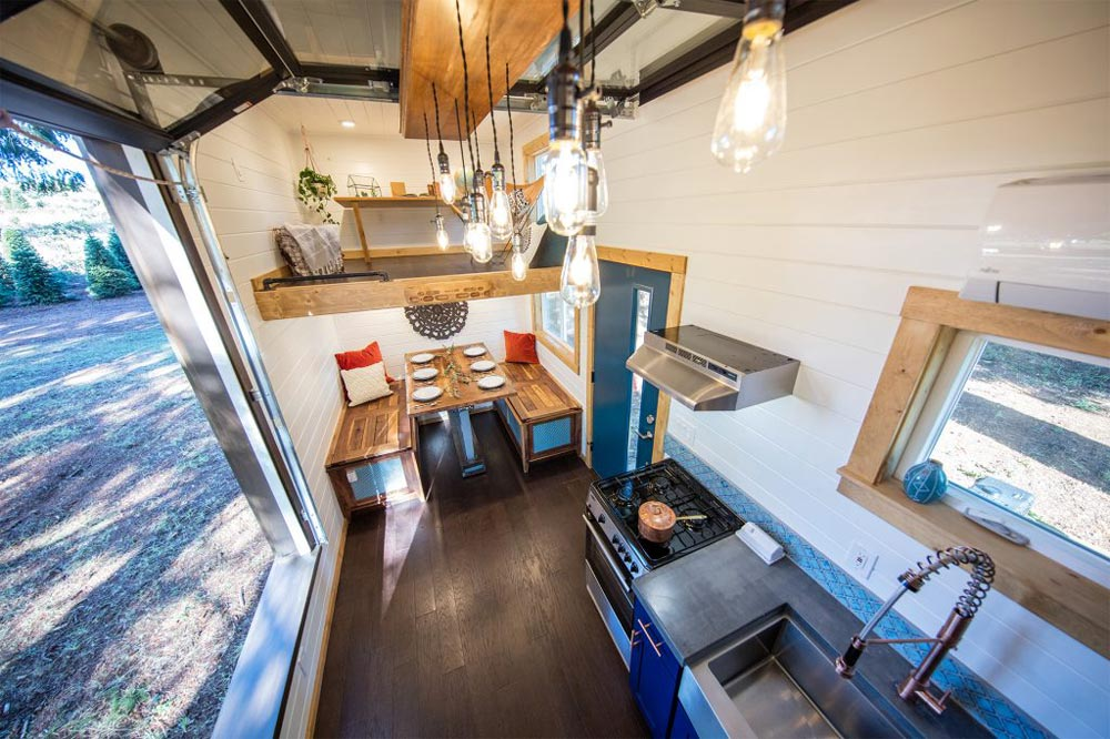 Aerial Interior View - Tiny Adventure Home by Tiny Heirloom