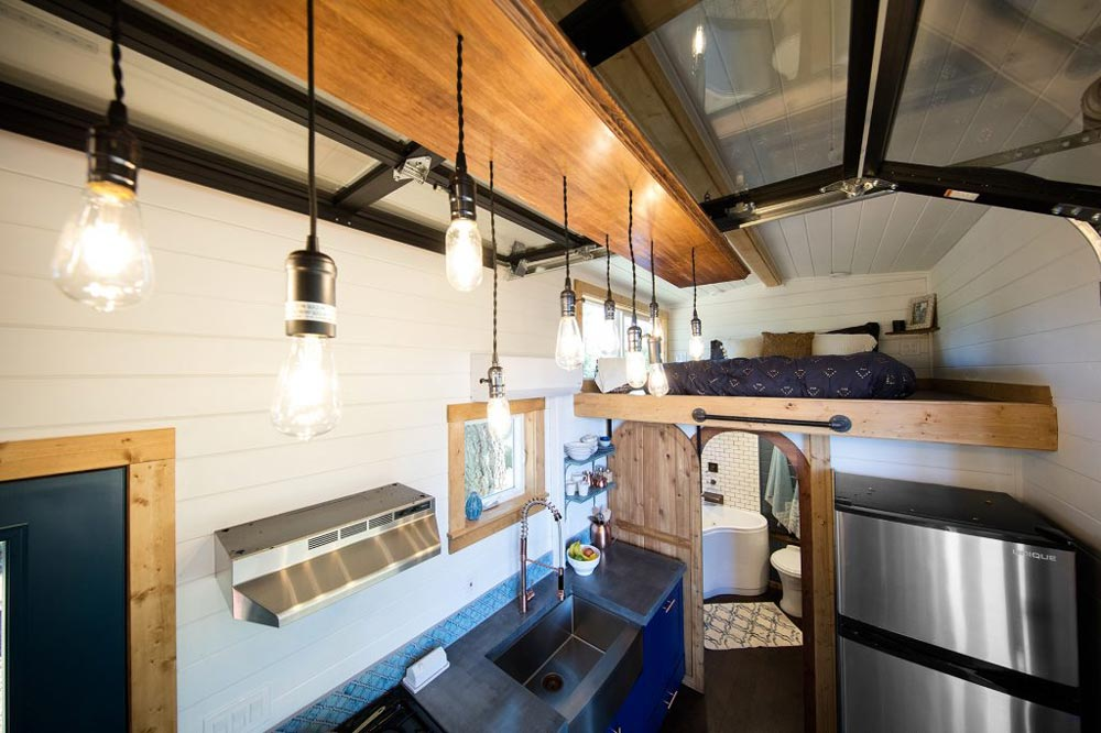 Kitchen Lighting - Tiny Adventure Home by Tiny Heirloom