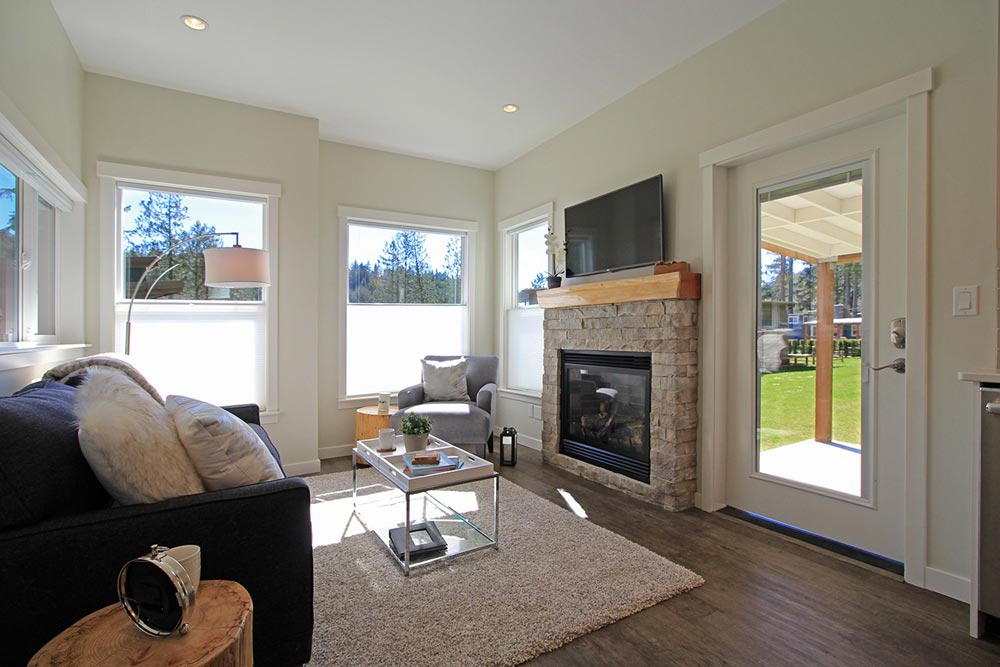 Fireplace - Bellevue by West Coast Homes
