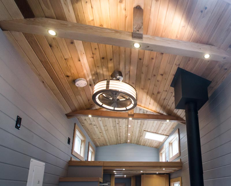 Cedar Ceiling - Blue Heron by Rewild Homes