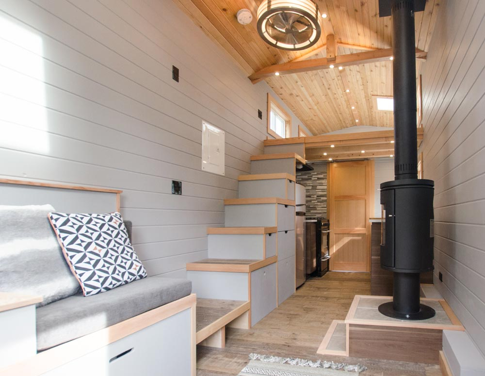 Tiny House Interior - Blue Heron by Rewild Homes
