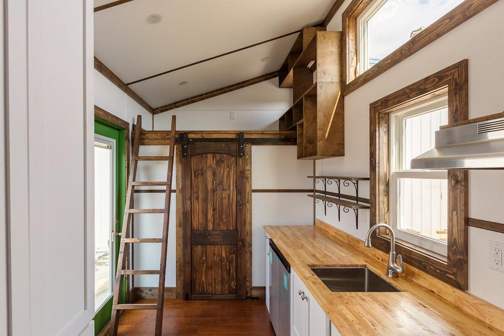 Butcher Block Counters - Borough by Tiny House Chattanooga