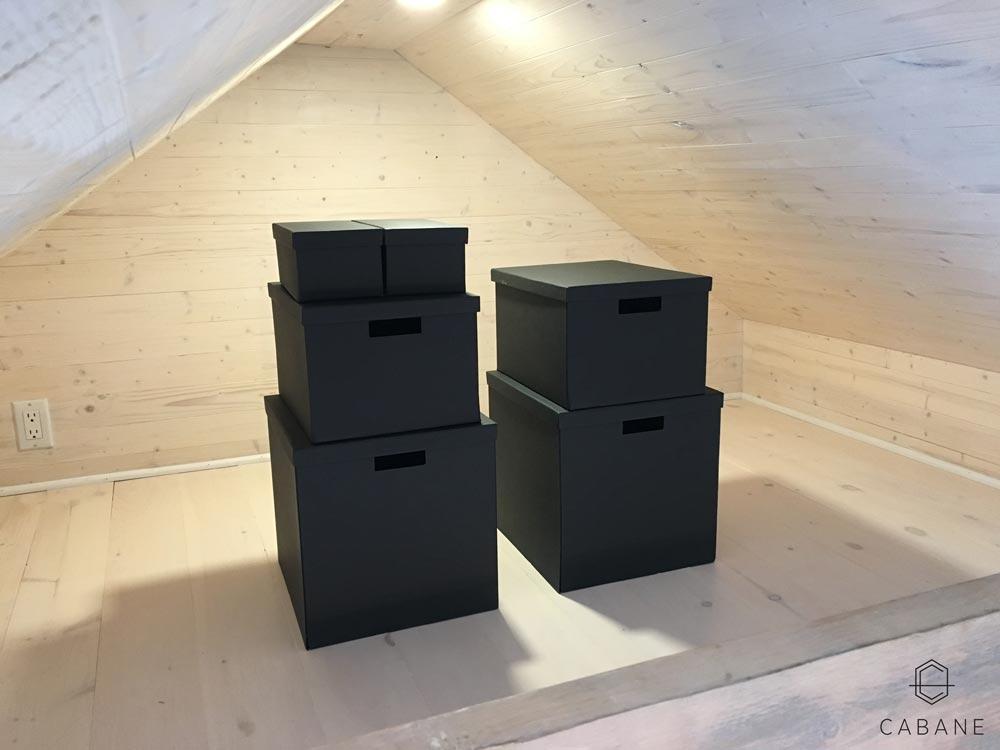 Storage Loft - Cabane Tiny Cabin