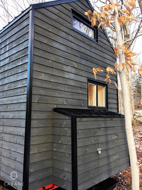 Exterior Detail - Cabane Tiny Cabin