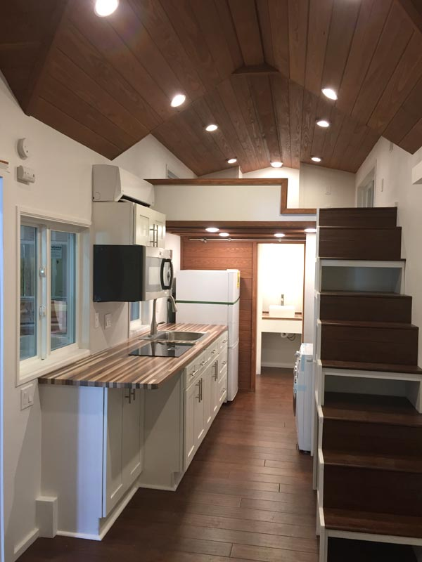 Tiny House Interior - California Cruiser by Cornerstone Tiny Homes