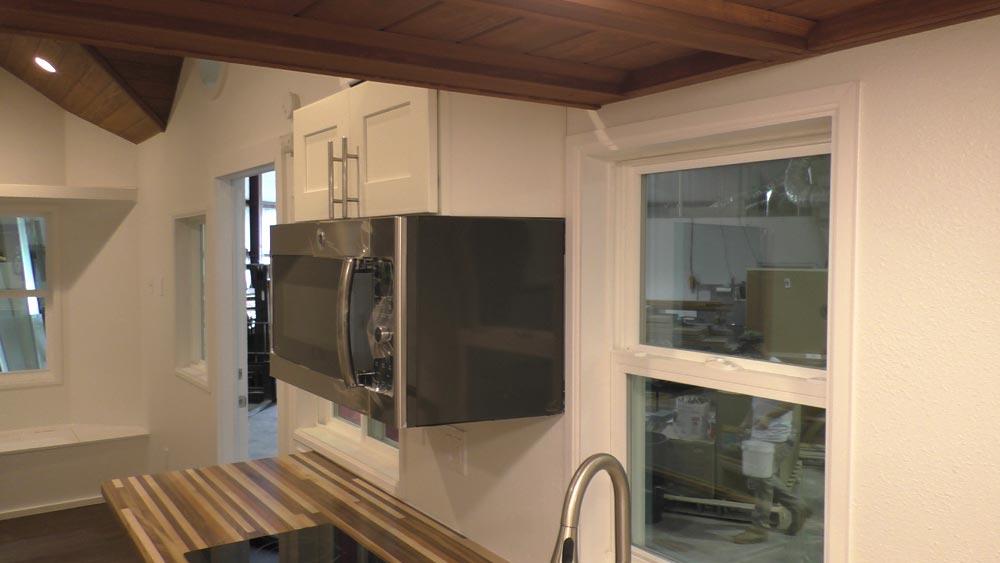 Microwave - California Cruiser by Cornerstone Tiny Homes
