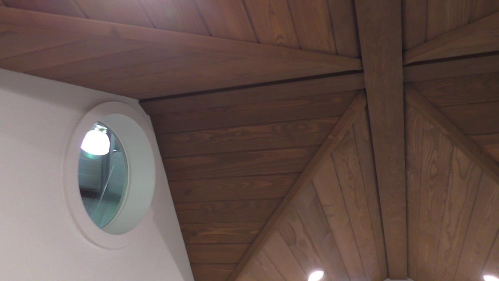 Ceiling Detail - California Cruiser by Cornerstone Tiny Homes