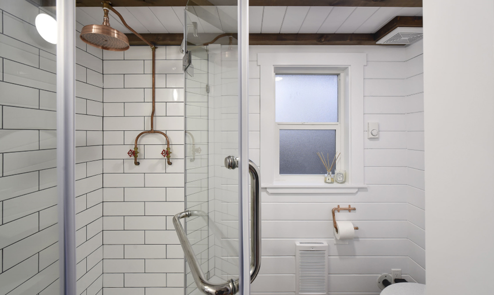Shower - Custom Tiny #4 by Mint Tiny Homes