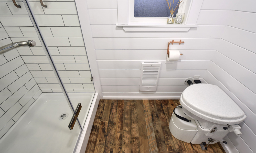 Bathroom - Custom Tiny #4 by Mint Tiny Homes
