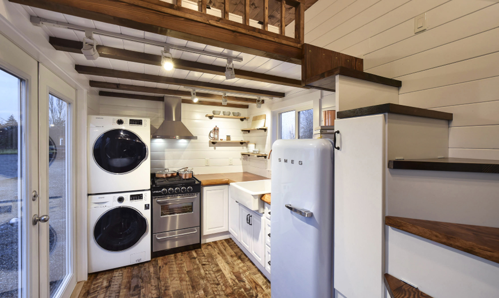 Kitchen - Custom Tiny #4 by Mint Tiny Homes