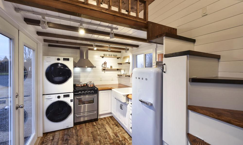 Kitchen - Custom Tiny #4 by Mint Tiny Homes