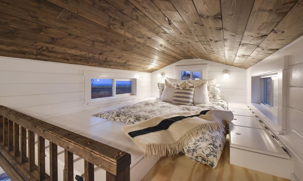 Bedroom Loft - Custom Tiny #4 by Mint Tiny Homes
