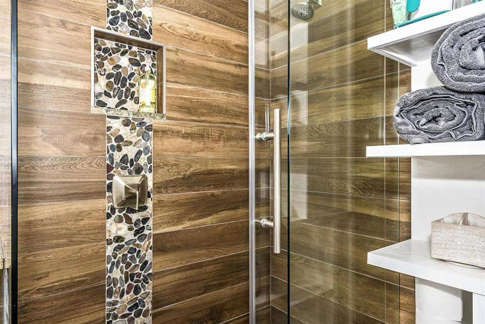 Shower Detail - Dreamwood by Humble Homes