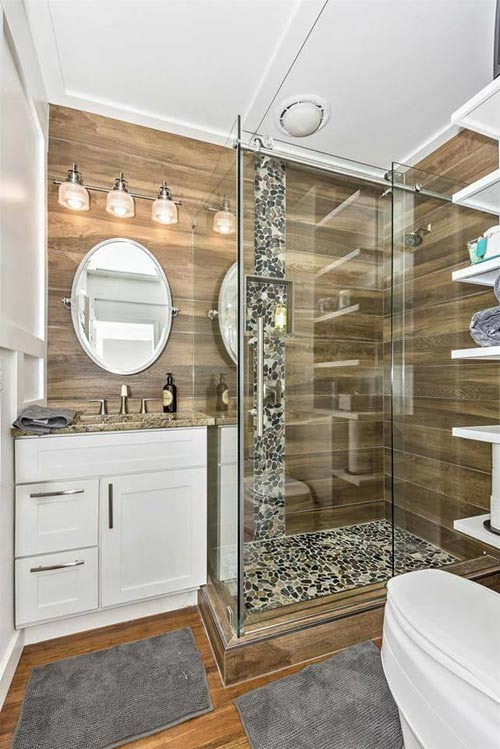 Bathroom - Dreamwood by Humble Homes