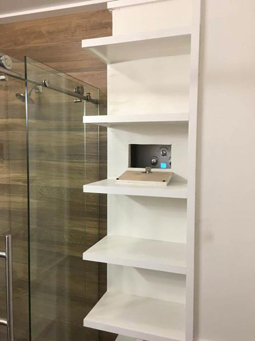 Bathroom Shelves - Dreamwood by Humble Homes
