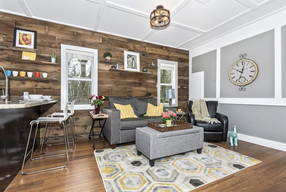Barn Wood Feature Wall - Dreamwood by Humble Homes