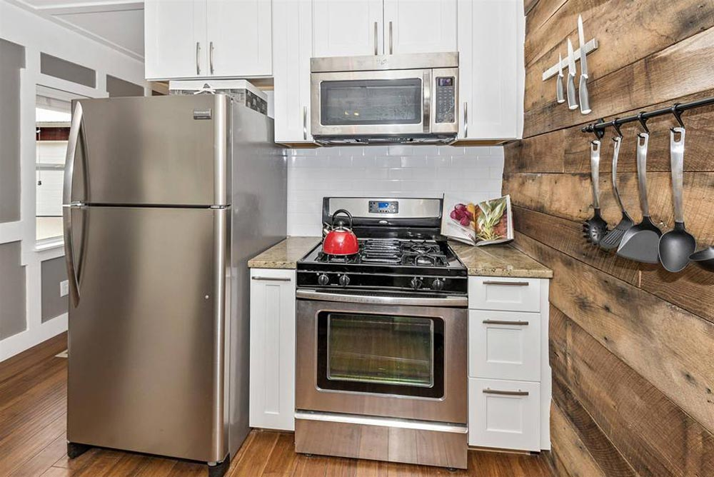 Full Refrigerator and Range - Dreamwood by Humble Homes