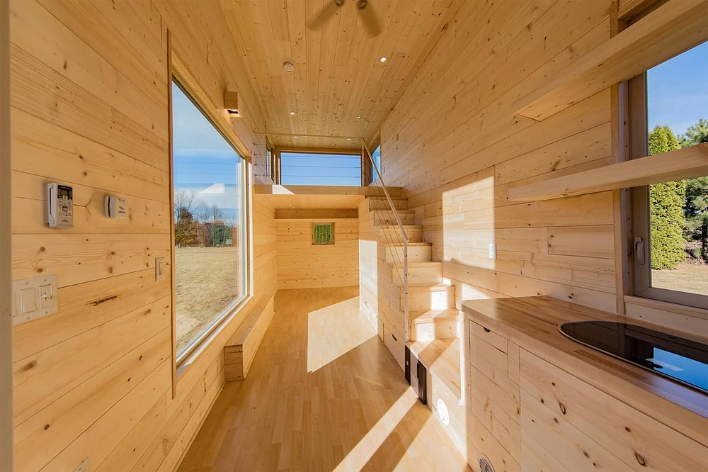 Tiny House Interior - Escape One by Escape Traveler