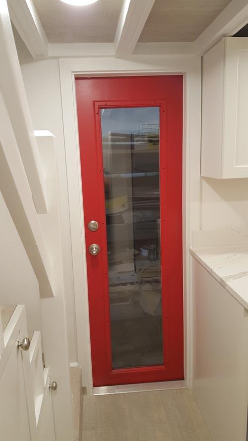 Front Door - Family Friendly Fontana by Cornerstone Tiny Homes