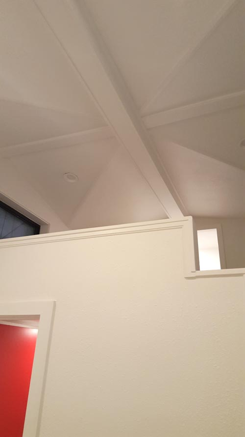 Ceiling Detail - Family Friendly Fontana by Cornerstone Tiny Homes