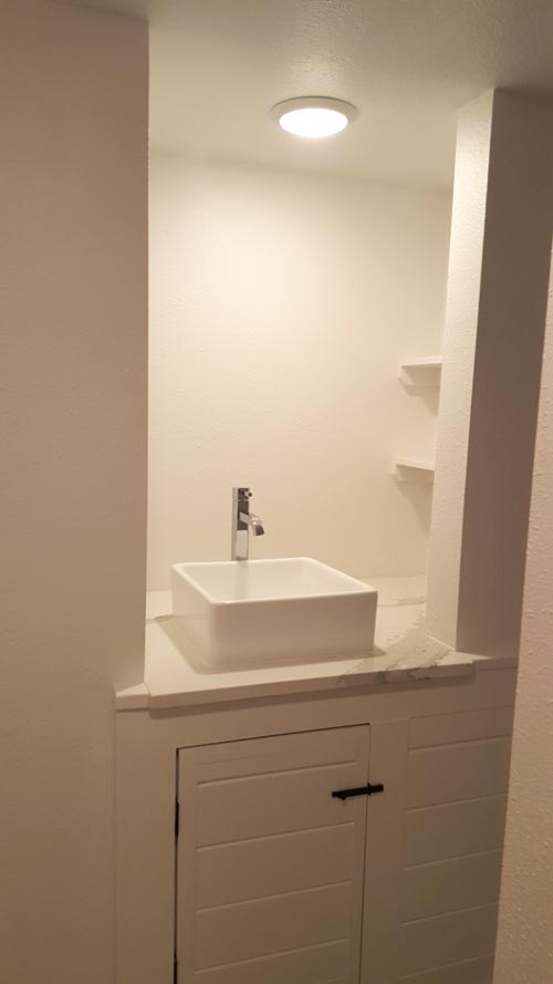 Bathroom Sink - Family Friendly Fontana by Cornerstone Tiny Homes