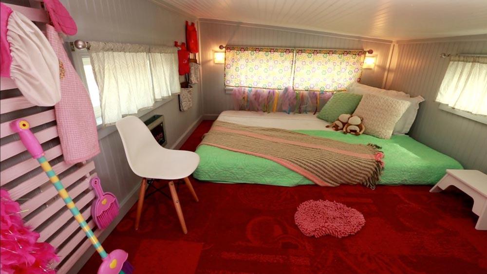 Kids' Bedroom Loft - Retro Garage House by Southwest Tiny Homes