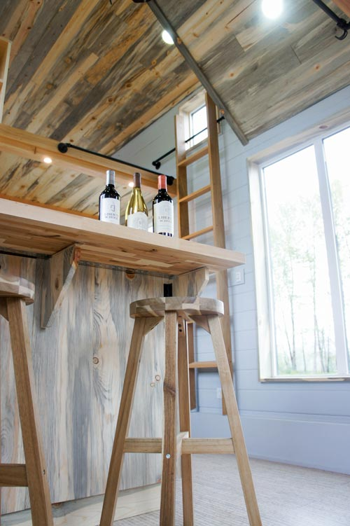 Bar Stools - Kootenay Wine Tasting Room by TruForm Tiny