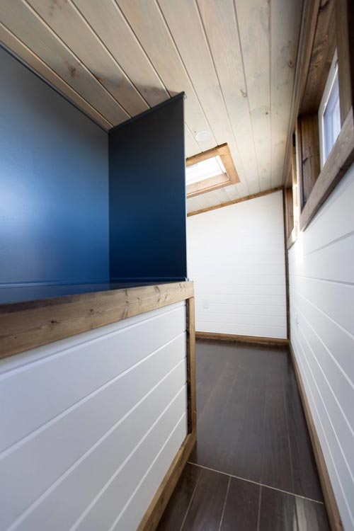 Storage Space - Lookout v2 by Tiny House Chattanooga