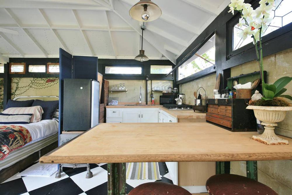 Dining Area - Craftsman Mini-Me Tiny House