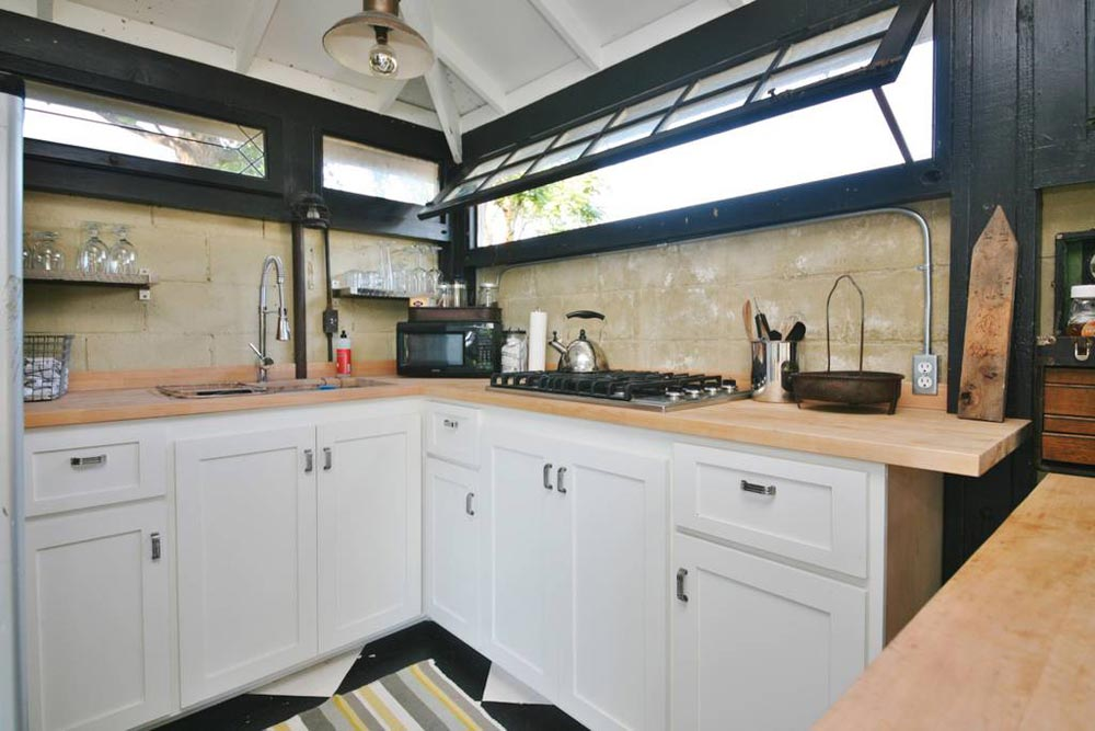 Kitchen Cabinets - Craftsman Mini-Me Tiny House