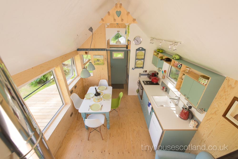 Tiny House Interior - NestHouse by Tiny House Scotland