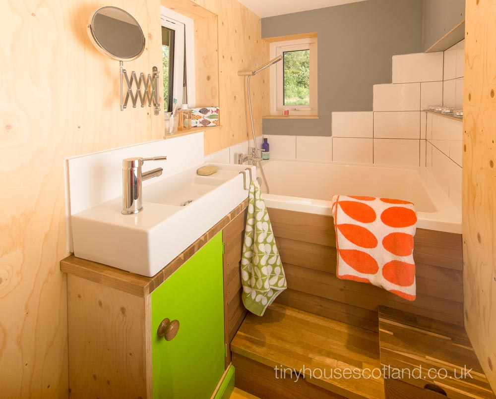 Bathroom - NestHouse by Tiny House Scotland