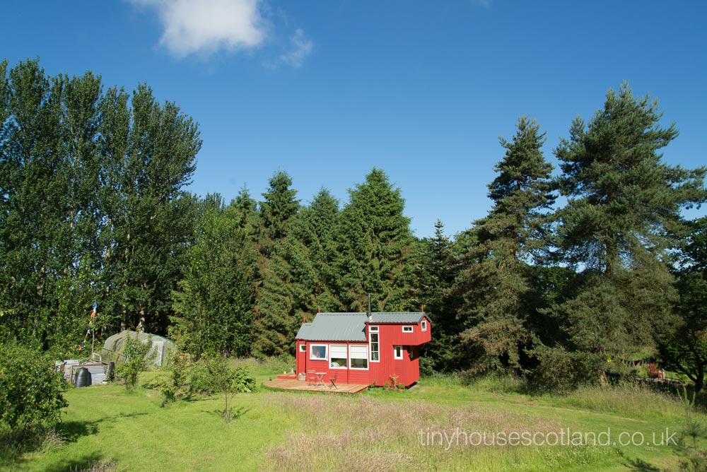 Perfect Tiny House Location - NestHouse by Tiny House Scotland